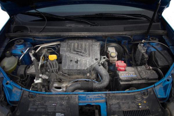 двигатель логан ДВС