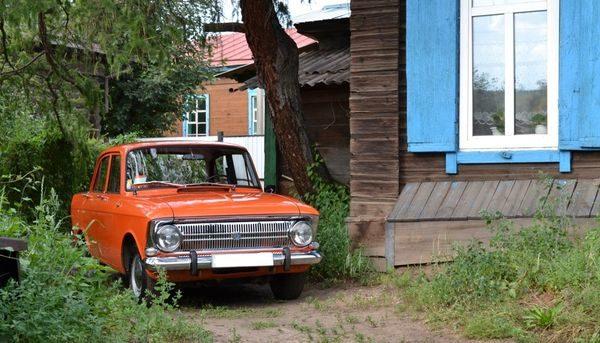постановка на учет старого авто