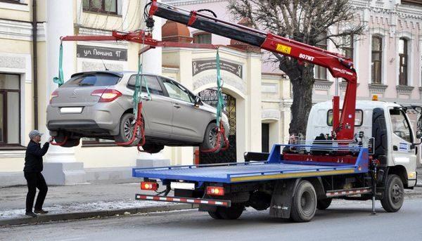 эвакуация машины без проверки на угон