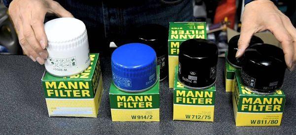 Замена масла на Гранте фильтр