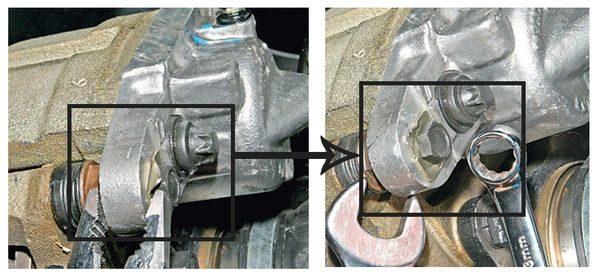 замена передних тормозных колодок лада гранта шаг 1
