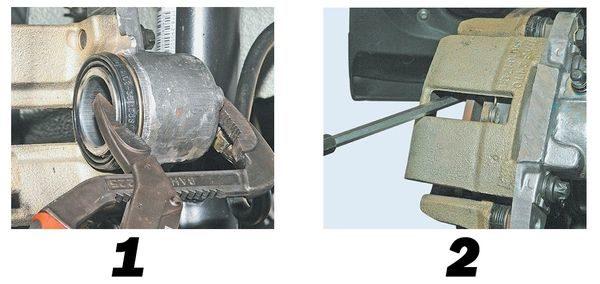 замена передних тормозных колодок лада гранта шаг 4